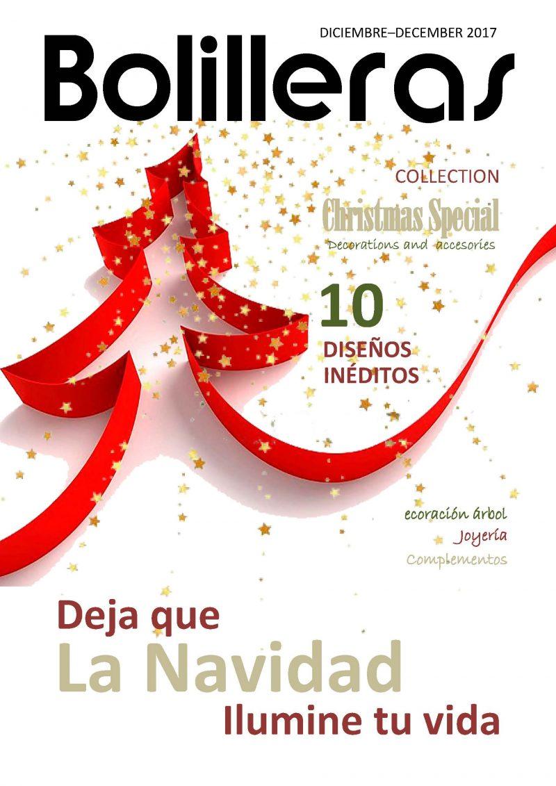 revista bolillos adornos de navidad