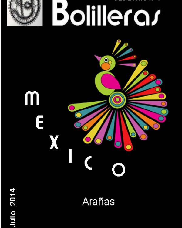 revista bolillos encaje mexicano