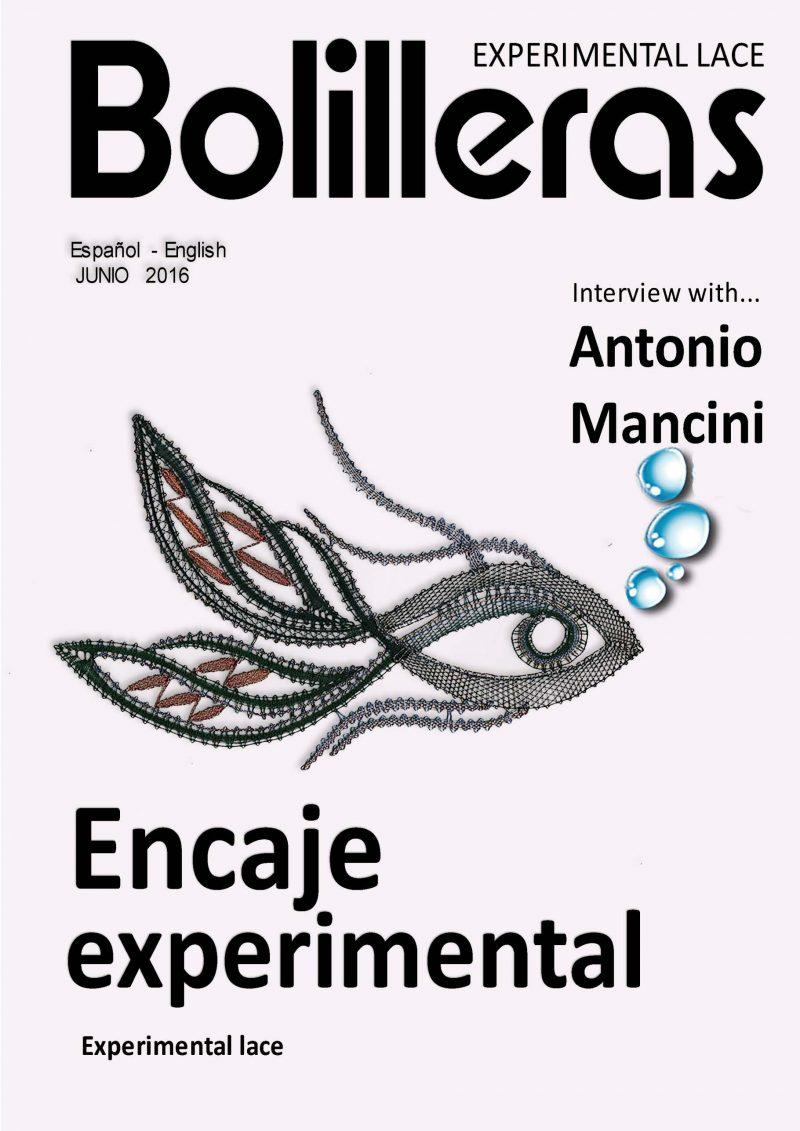 revista bolillos encaje experimental