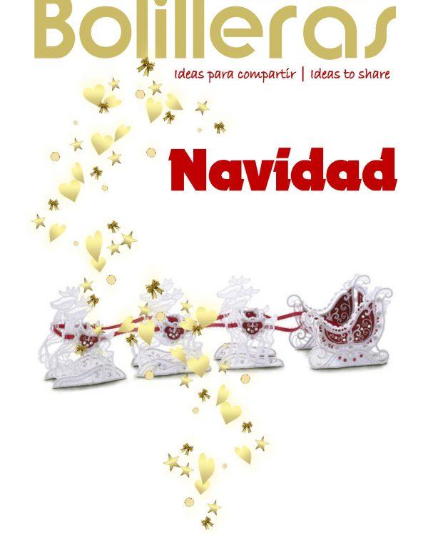 revista bolillos encaje navideño