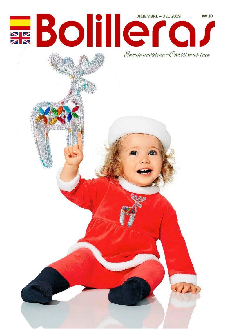 Revista de encaje de bolillos especial Navidad